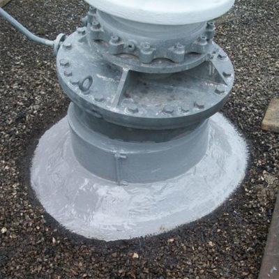Fertige Reparatur der Niederspannungsisolatoren zum langfristigen Schutz vor Korrosion und Ölaustritt