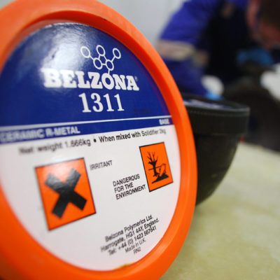 Belzona 1311 (Ceramic R-Metal)