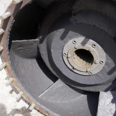 Reparatur des Pumpendiffusors