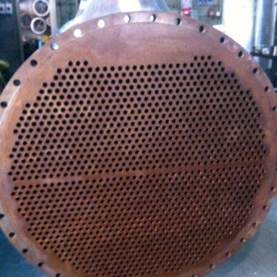 Bei neuen Kühlanlagen muss mit ständiger Korrosion während des Betriebs gerechnet werden
