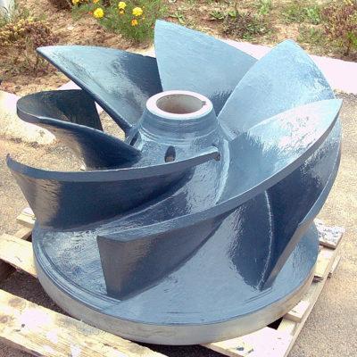 Langfristiger Schutz durch beschichtetes Pumpenlaufrad