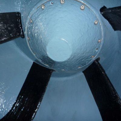 Langfristiger Schutz mit Belzona 2141 (ACR Fluid Elastomer) und Belzona 1341 (Supermetalglide)