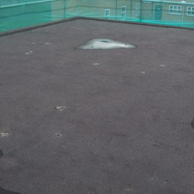 Dachoberfläche vor dem Auftrag von Belzona 3111 (Flexible Membrane)