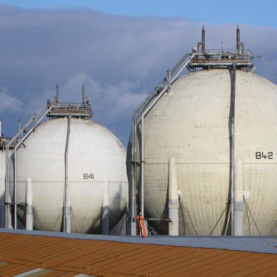 Gedämmte LNG-Gastanks lassen sich auch einfach schützen.