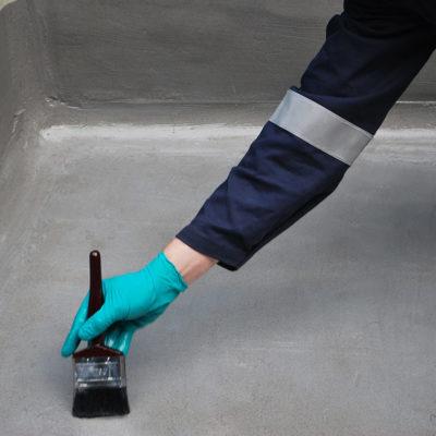 Oberflächenvorbereitung vor der Aufbringung