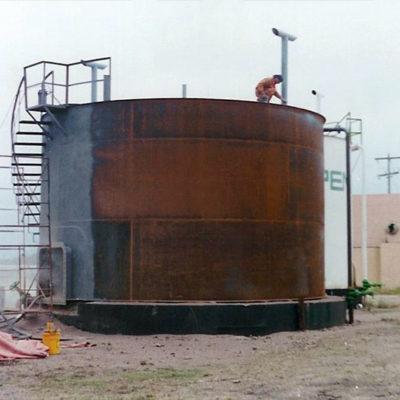 Lagertank mit externer Korrosion