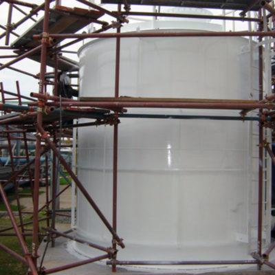 Zusätzlicher Schutz und Aufwertung der Oberfläche mit Belzona 5111 (Ceramic Cladding)