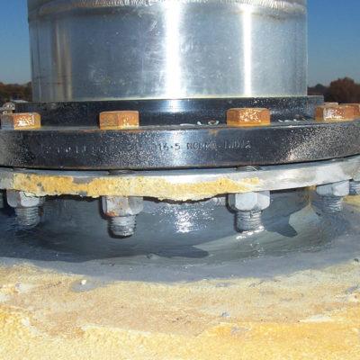 Belzona 8211 (HP Anti-Seize) kann auch zur Verhinderung der Korrosion an Gewindeteilen eingesetzt werden.