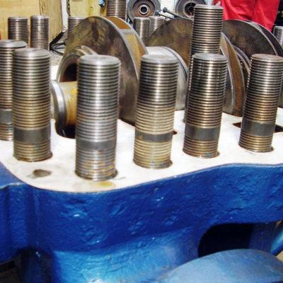 Verhindert Korrosion an Prozessanlagen bei Temperaturen bis 1100 °C