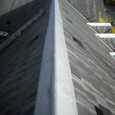Flashings sealed with of Belzona 3131 (WG Membrane)
