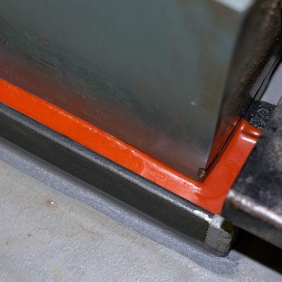 Belzona 7111 under curing process